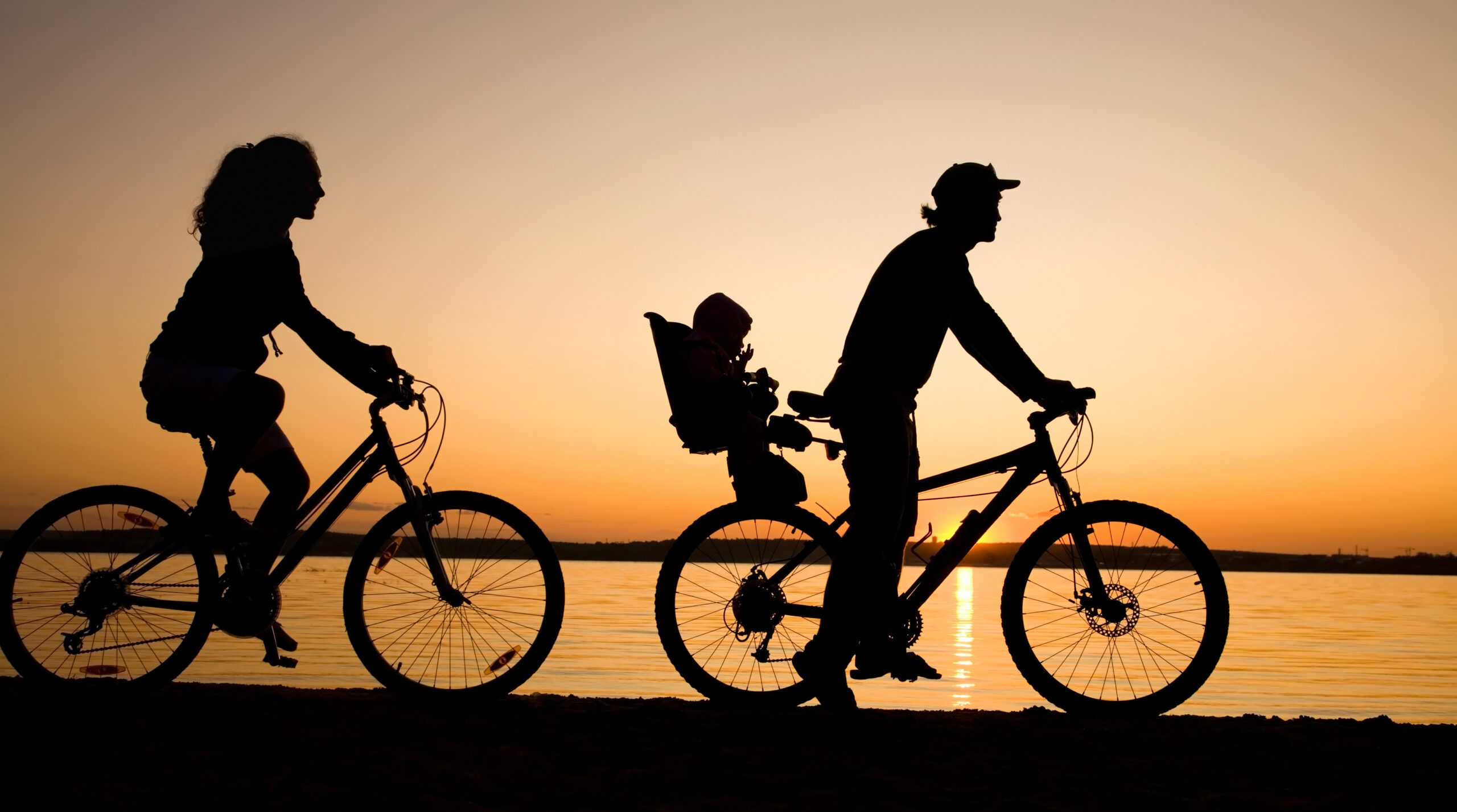 Family Cycling - full suspension mountain bike