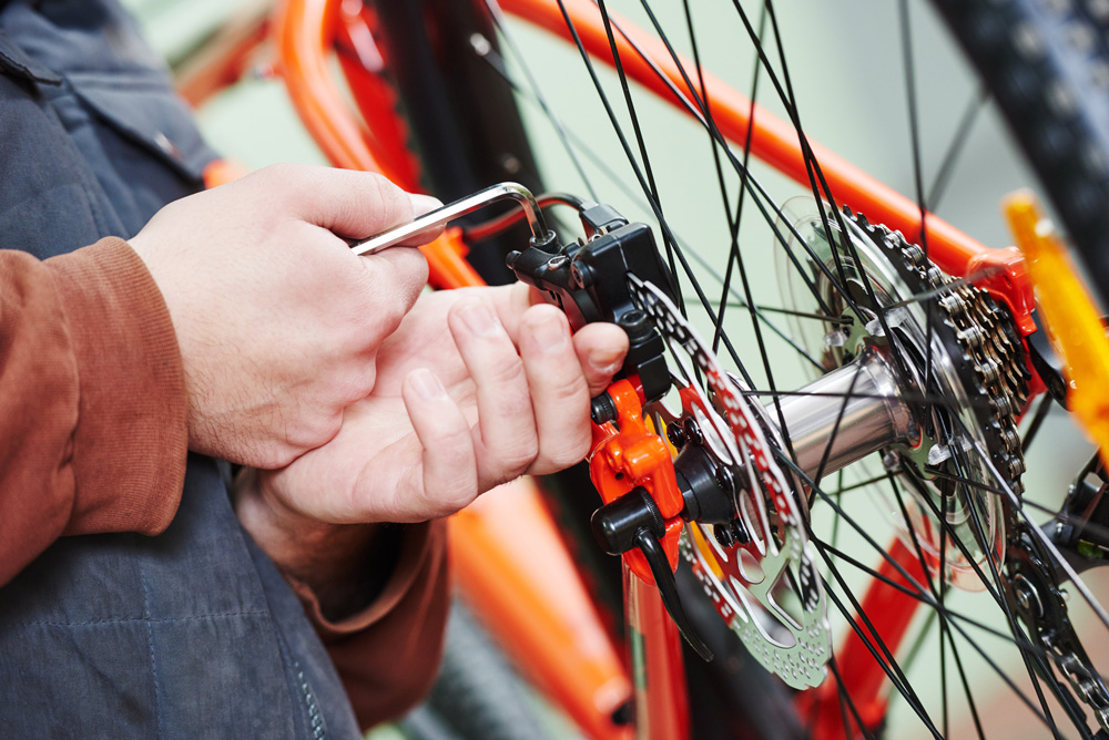 bicycle repair services