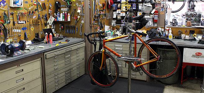 bike shop repair